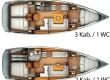 Sun Odyssey 409  charter Segelyacht Spanien