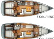 Sun Odyssey 409  charter Segelyacht Italien