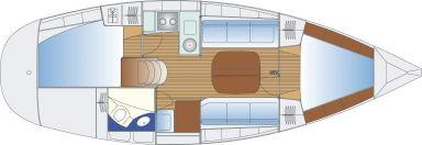 Segelyacht Bavaria 32