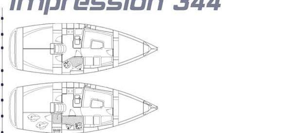 Segelyacht Elan 344 Impression