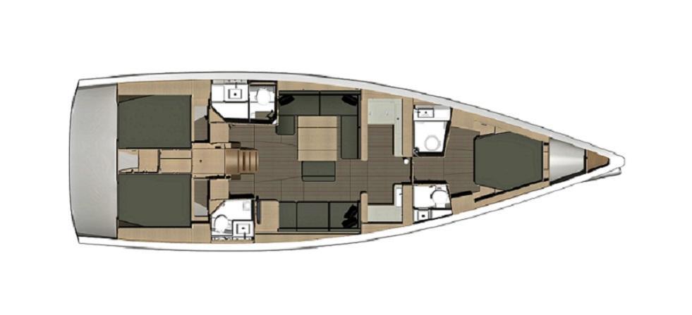 Segelyacht Dufour 500
