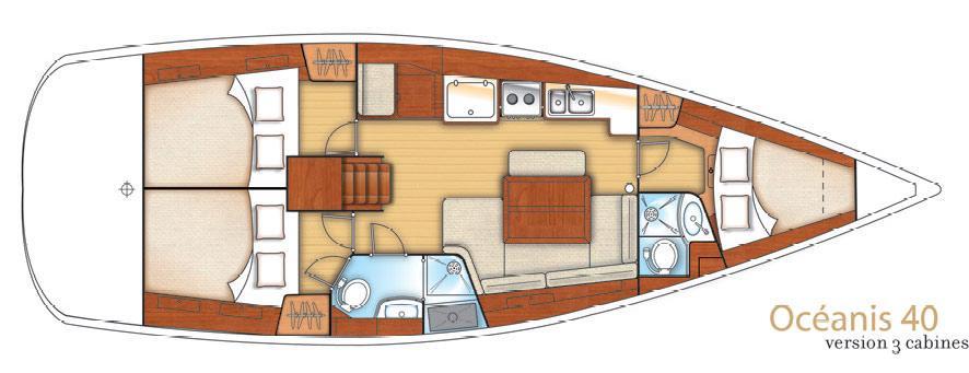Segelyacht Oceanis 40