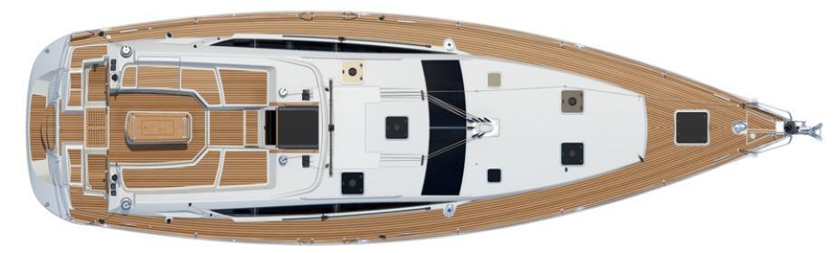Segelyacht Jeanneau 53