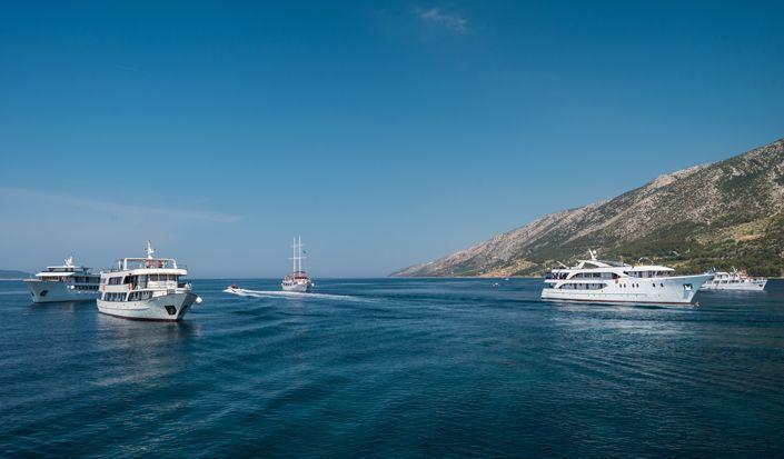 """Klassischer Kreuzfahrtplan """"Südliche Perlen"""" (Dubrovnik - Split)"""