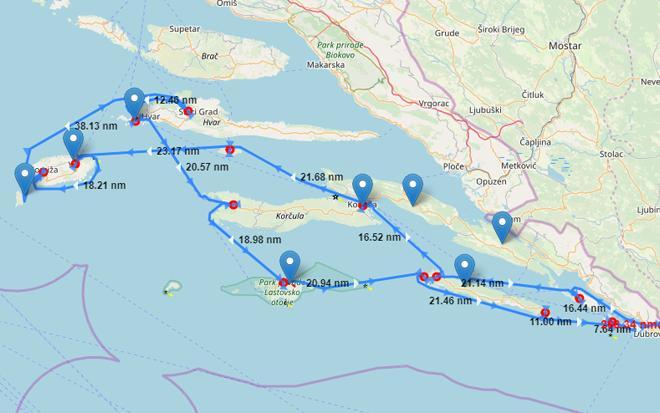 Neu! Interaktive Segelrouten und empfohlene Reiserouten