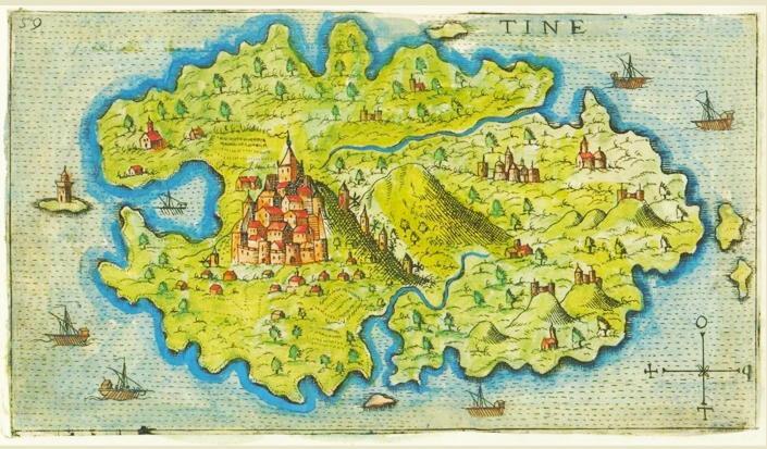 """Die """"Tamata"""" von Tinos - griechische Insel der Wunder"""