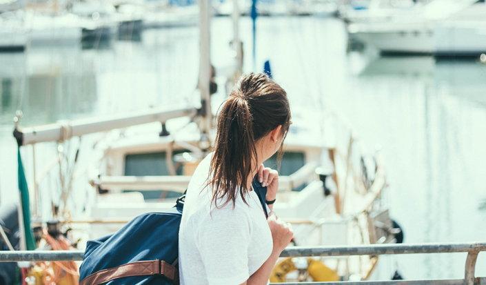 Frauen und die See
