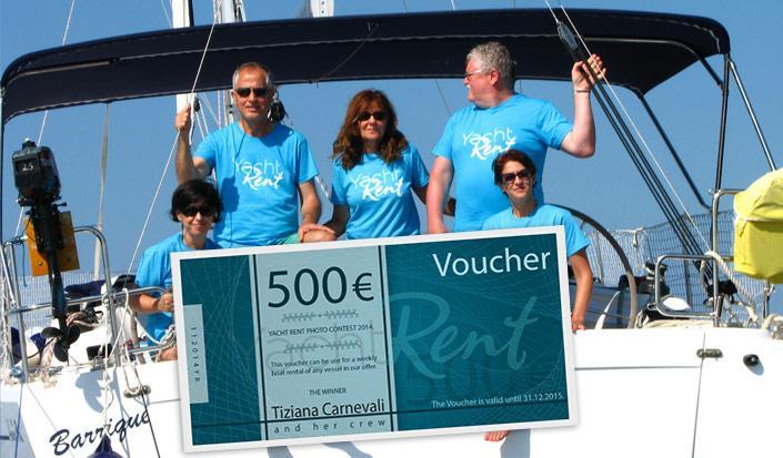 Sieger des 2014 Wettbewerbs gewann einen Gutschein über 500 €!