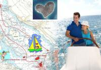 Make your Valentine's Day special by sailing around the Love island