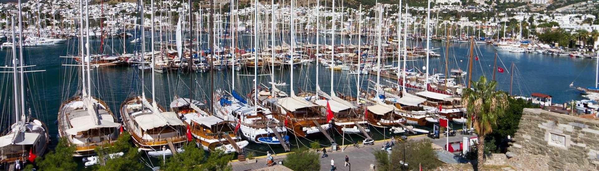 Türkei Motorseglern und Gulets 2