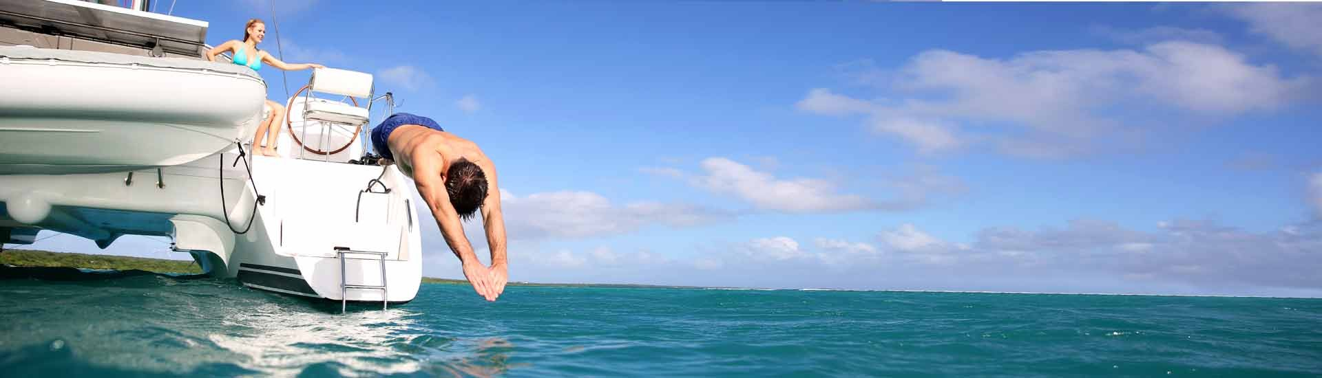 Catamaran Jump