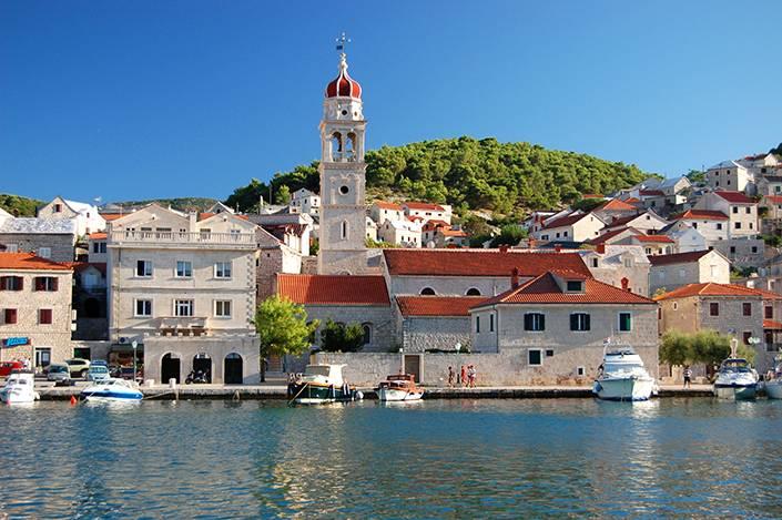 Pucisca, Brac, Kroatien