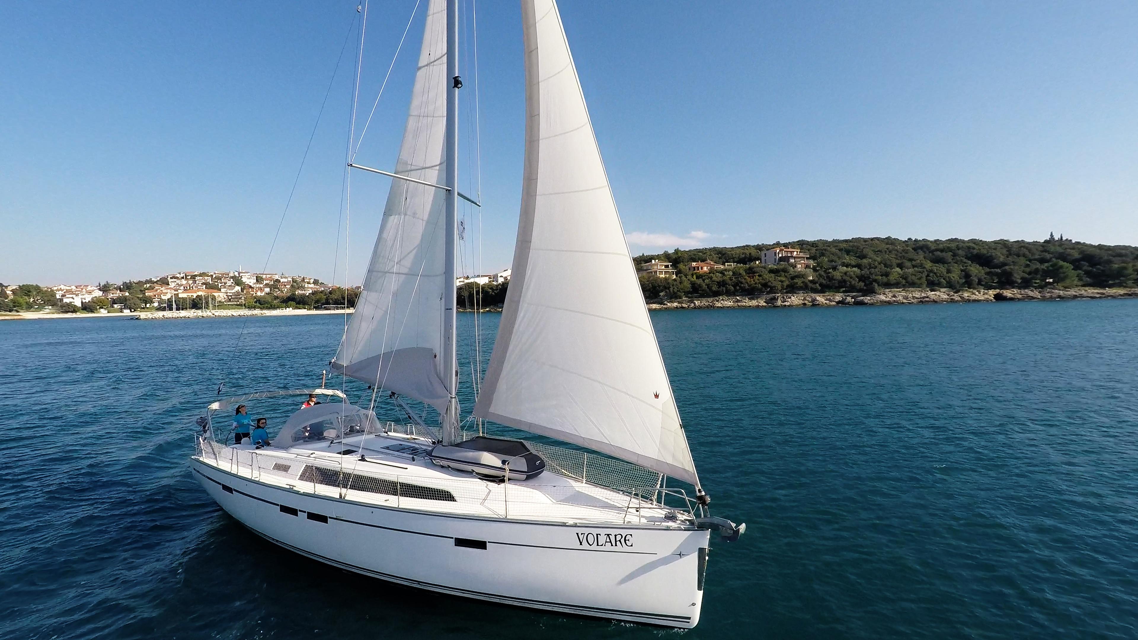 Segelyacht bavaria 46 cruiser Segelyacht Bucht Kroatien