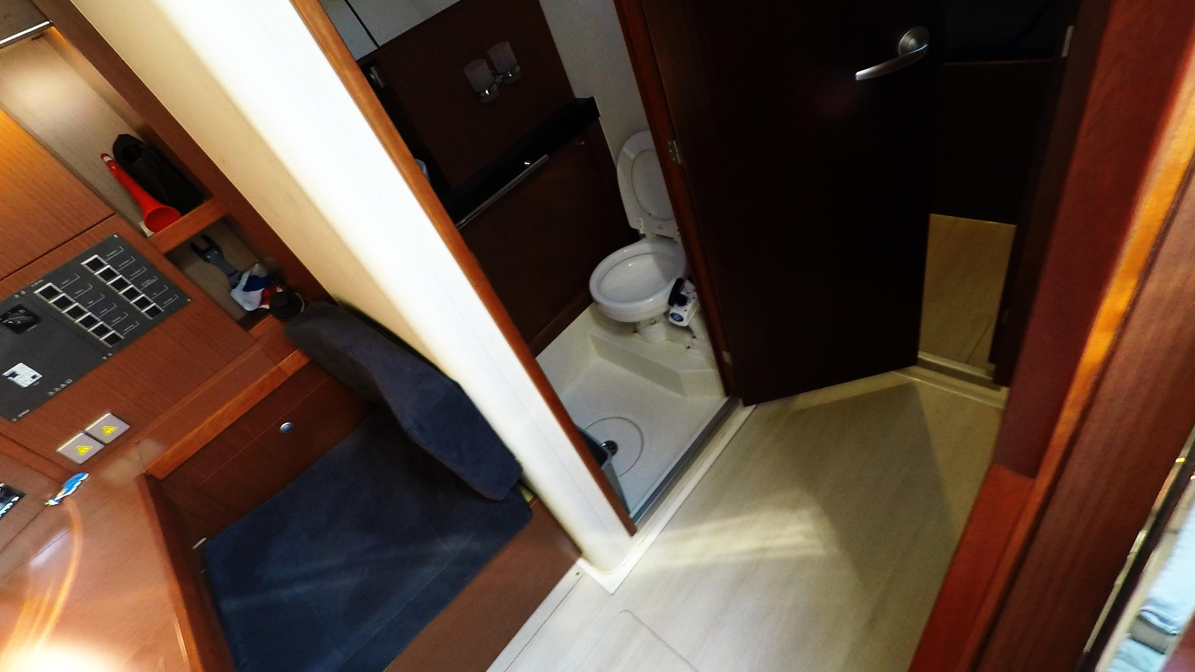 Segelyacht Achter Toilette Dusche Segelyacht Hanse 505