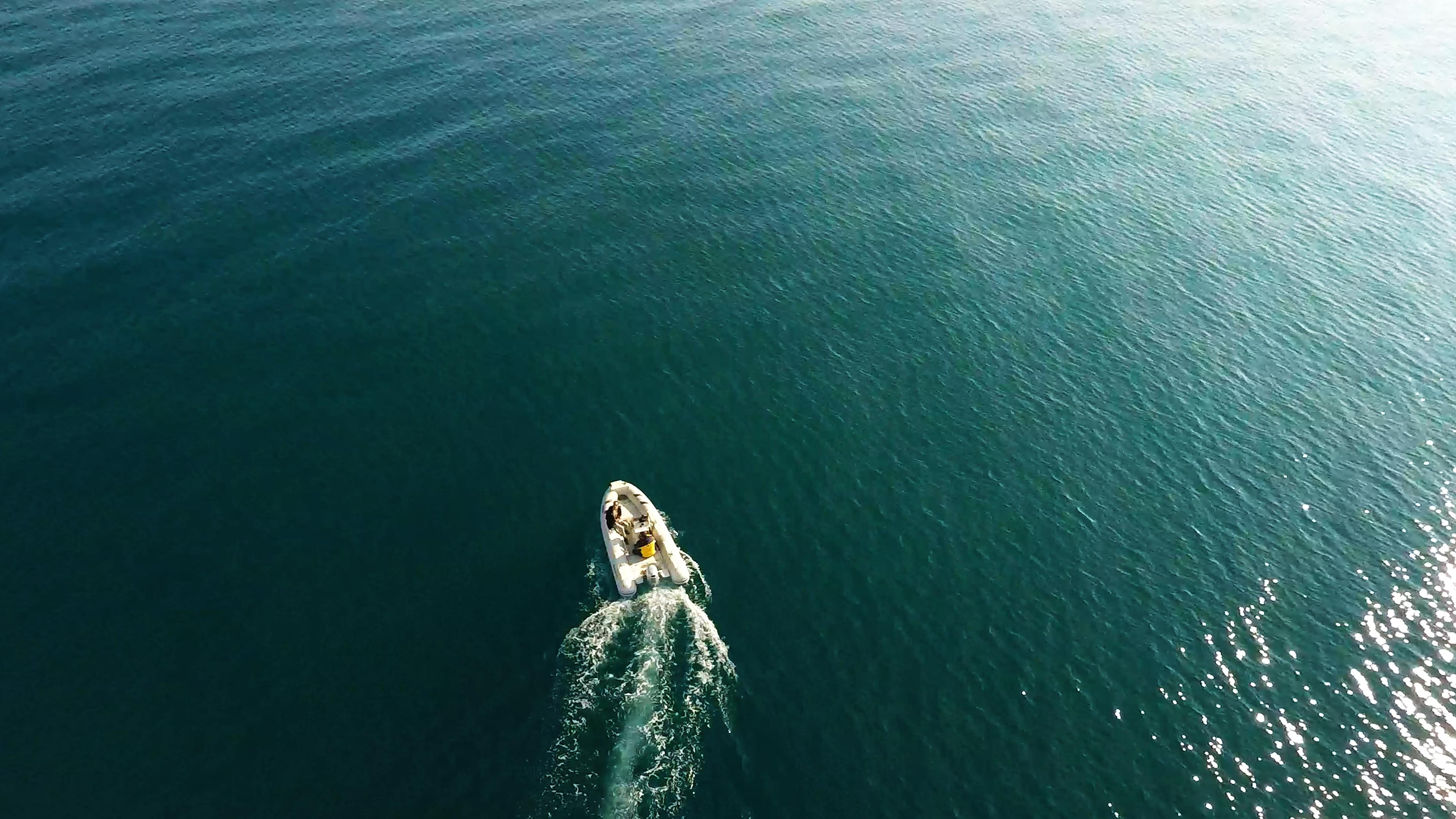 Segelyacht BootAuf dem Meer Rippe