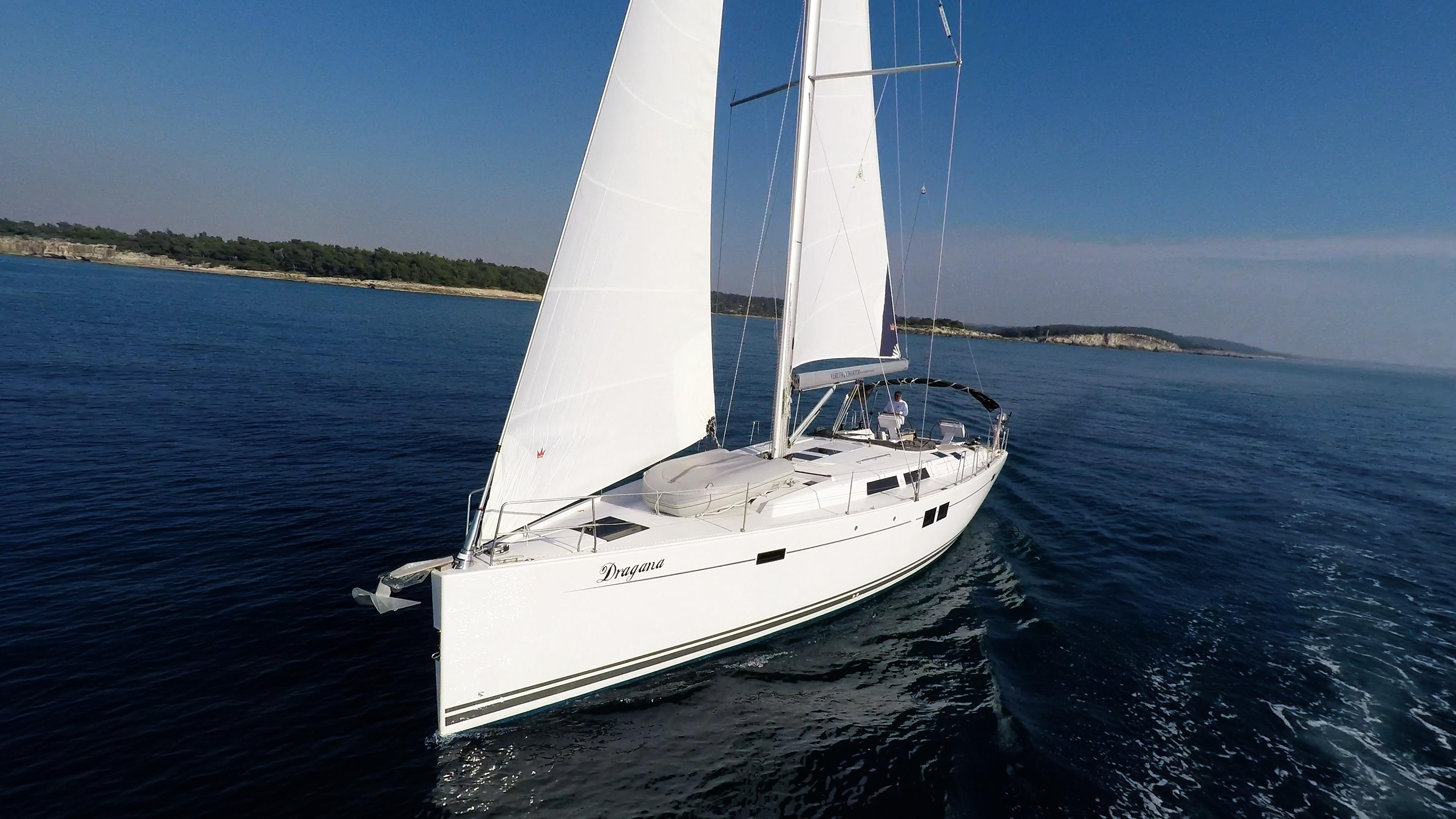 Segelyacht Bug Segel Hanse 505 Segelyacht