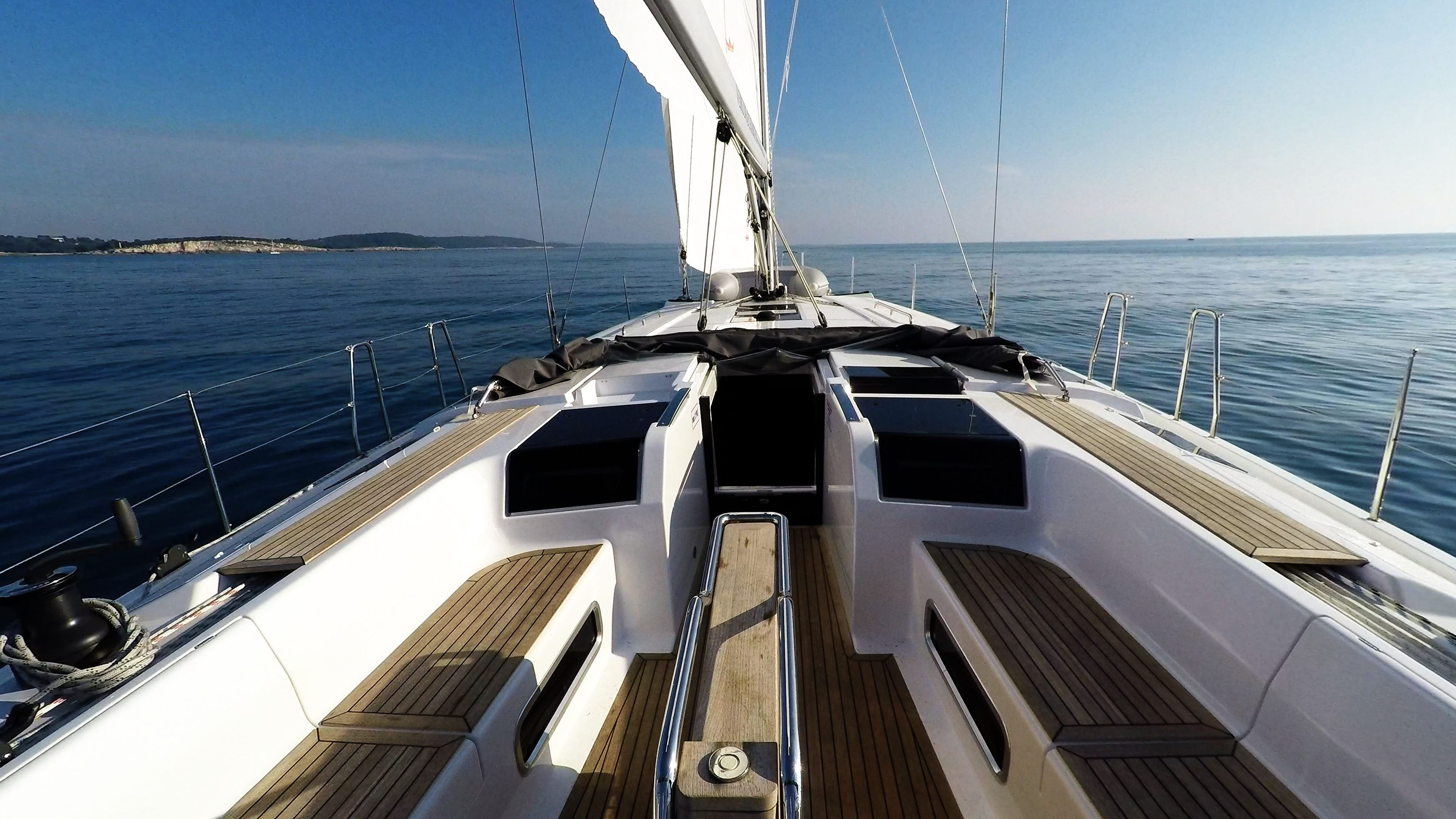 Segelyacht Hanse 505 Deck Segelyacht