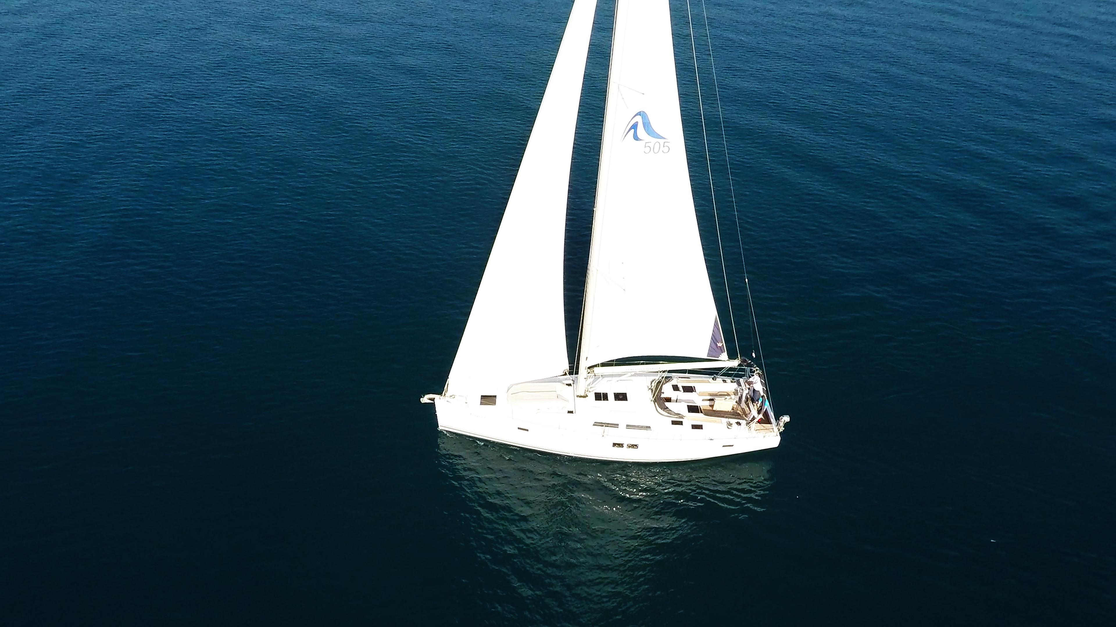 Segelyacht Hanse 505 Segelboot 4